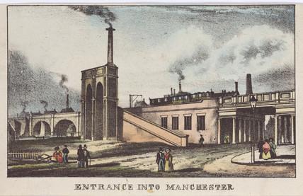 'Entrance into Manchester', 1833.
