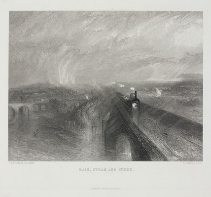 'Rain, Steam and Speed', 1844.