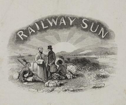'Railway Sun' 1850-1860.