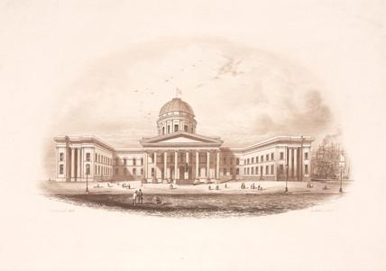 Liverpool Custom House, 19th century.