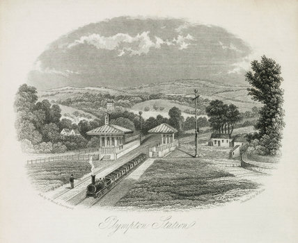 'Plympton Station', Devon, 19th century.