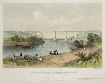 Victoria Bridge, Tyne & Wear, 1838.