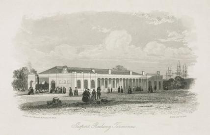 Gosport Railway Terminus, 1841.