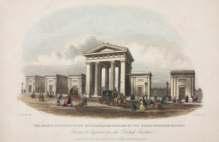 Euston Station, London, 1851.