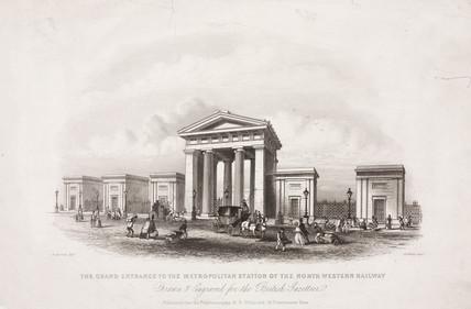 Euston Station, London, 1851.