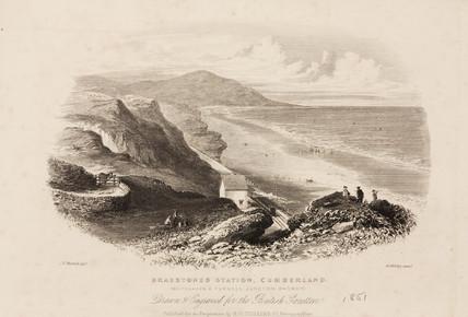 'Braestones Station, Cumberland', 1851.