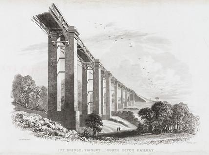 'South Devon Railway: Ivy Bridge Viaduct', 1851.