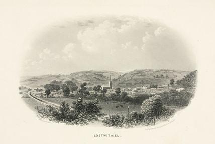 'Lostwithiel', Cornwall, 1860.