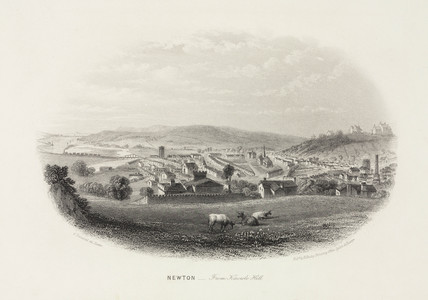 'Newton from Knowle Hill', Devon, 1860-1870.