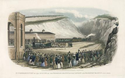 Opening of the Shoreham Branch of the London & Brighton Railway, 1840.