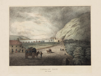 Penmaen Bach, near Conwy, 19th century.