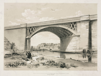 Nash Mills Bridge, Kings Langley, Hertfordshire, 10 June 1837.