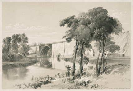Canal bridge, Pitstone, Buckinghamshire, October 1837.