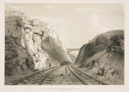 'Blisworth Cutting', Northamptonshire, 1839.