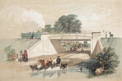 Gardner's Patent Railway Bridge, 19th century.