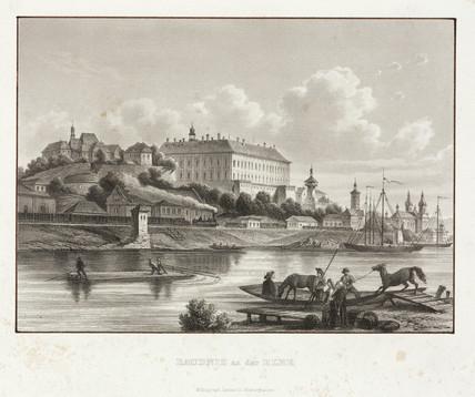 'Raudnitz on the Elbe', Czechoslovakia, 19th century.