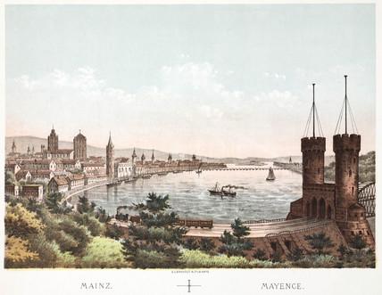 Mainz, Germany, 19th century.