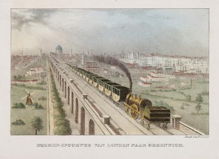 The London & Greenwich Railway, 19th century.