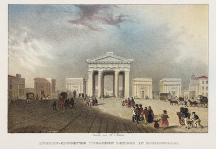 Euston Station, London, 19th century.