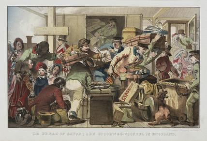 'Break of gauge', Gloucester, June 1846.