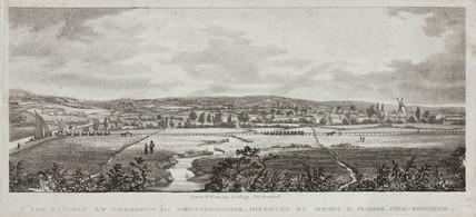 'The Railway at Cheshunt in Hertfordshire', 1825.