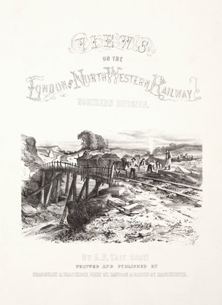 Title page to 'Views on the London & North Western Railway', 1848.