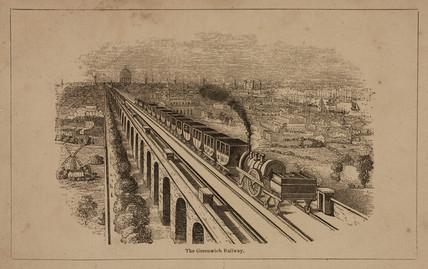'The Greenwich Railway', c 1840.