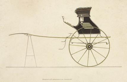 High tandem gig, 1816.