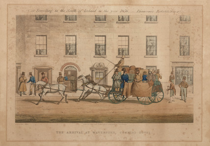 'The Arrival at Waterford', Ireland, 1856.
