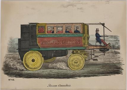 'Steam Omnibus', 1833.