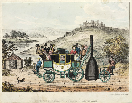 'The Edinburgh Steam Carriage', early 19th century.