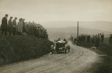 Isotta Fraschini racing car, Waddington Fells, Lancashire, c 1912.