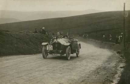 Darracq racing car, Waddington Fells, Lancashire, c 1912.