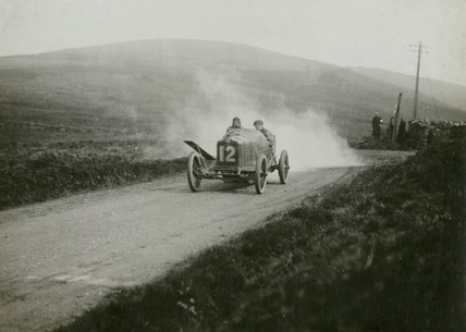 Minerva racing car, c 1912.