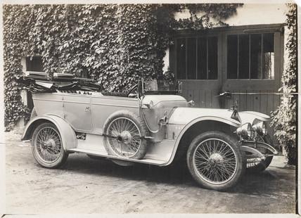 Landau motor car, c 1912.