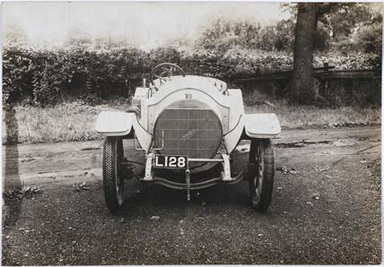 Spyker motor car, c 1912.