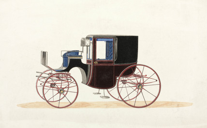 Coach, 19th century.