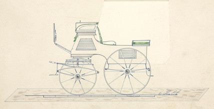 Carriage, mid 19th century.