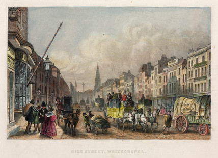 High Street, Whitechapel, London, 1851.
