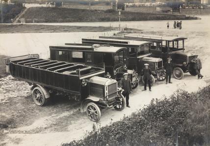 Motor buses, 1920s.