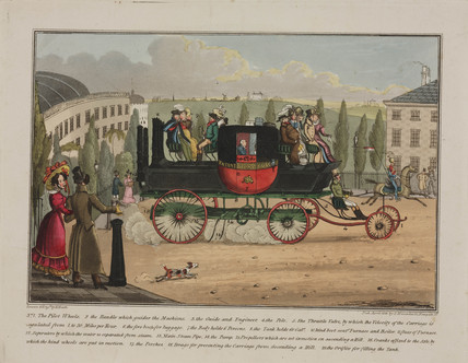 Patent Steam Coach, 1828.
