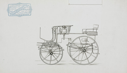 Carriage, 1870-1900.
