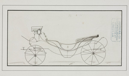 Carriage, 1850-1900.