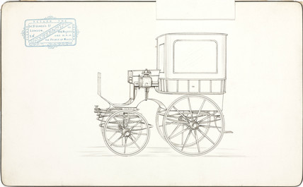 Carriage, 1850-1870.