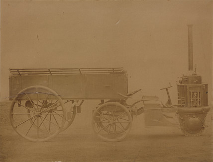 Perkins steam carriage, 1870.