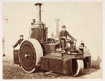 Road steamer 'Derwent', c 1868..