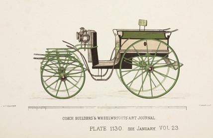 Cab fronted phaeton, c 1903.