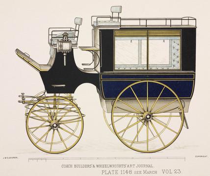 Hotel or private omnibus, c 1903.
