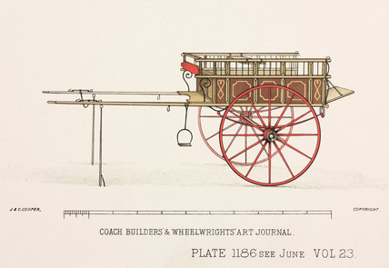 Trade cart, c 1903.