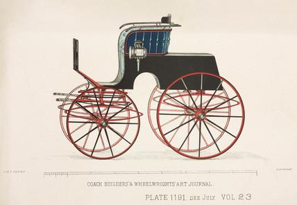 Stanhope phaeton, c 1903.